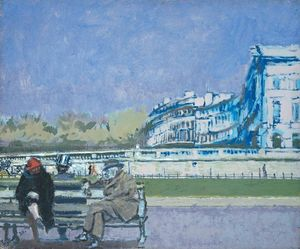 Walter Richard Sickert - The Front at Hove