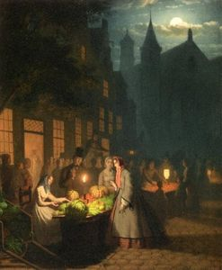 Johann Mongles Culverhouse - Fruit and Vegetable Market