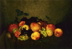 Charles Ethan Porter - Fruit: Apples, Grapes, Peaches and Pears