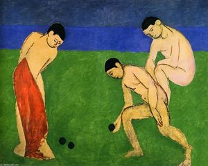Henri Matisse - Game of Bowls
