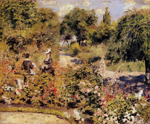 Pierre-Auguste Renoir - The Garden at Fontenay