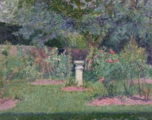 Spencer Frederick Gore - Garden at Hertingfordbury