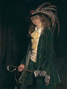 William Newenham Montague Orpen - Gardenia St George with Riding Crop