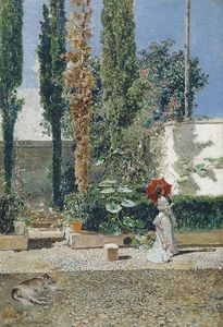 Raimundo De Madrazo Y Garreta - Garden of the house of Fortuny