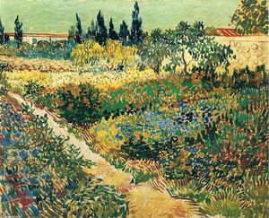 Vincent Van Gogh - Garden with Flowers