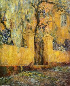 Henri Eugène Augustin Le Sidaner - The Gates of Morning-s Release