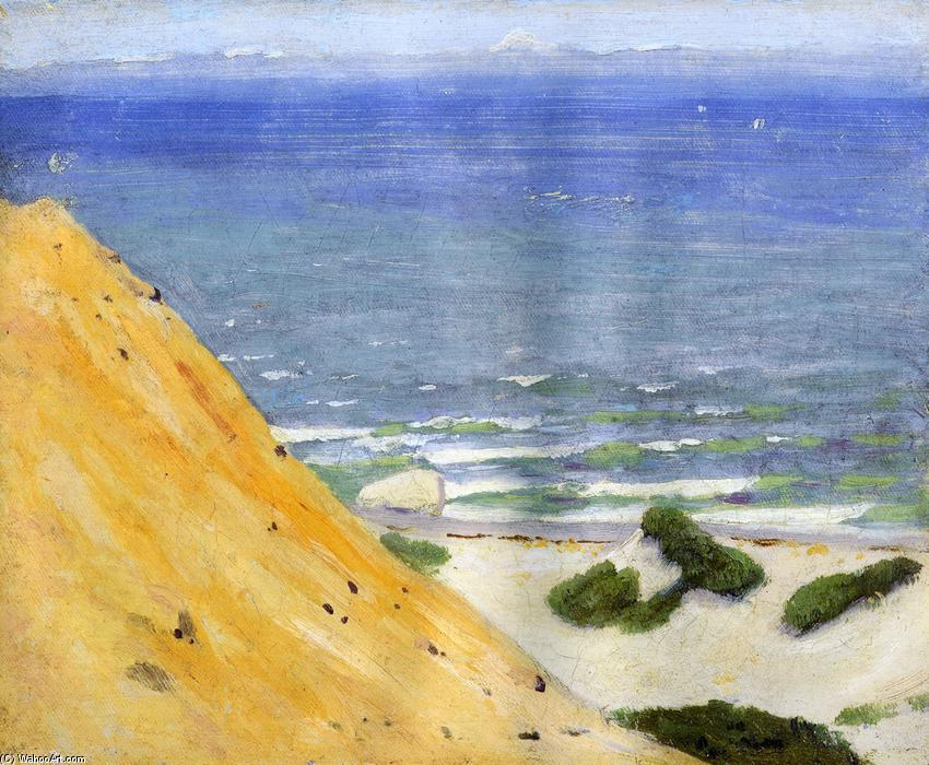 Gay Head, 1913 by Arthur Wesley Dow (1857-1922, United Kingdom) | Museum Quality Reproductions | WahooArt.com