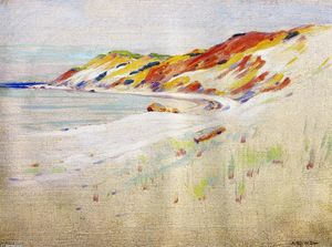 Arthur Wesley Dow - Gay Head, Martha-s Vineyard