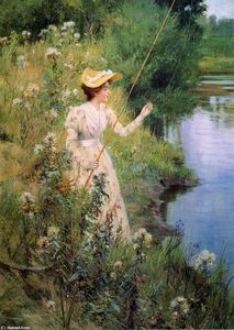 Francis Coates Jones - The Gentle Angler