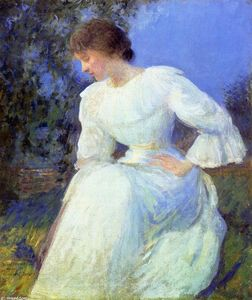 Edmund Charles Tarbell - Girl in White