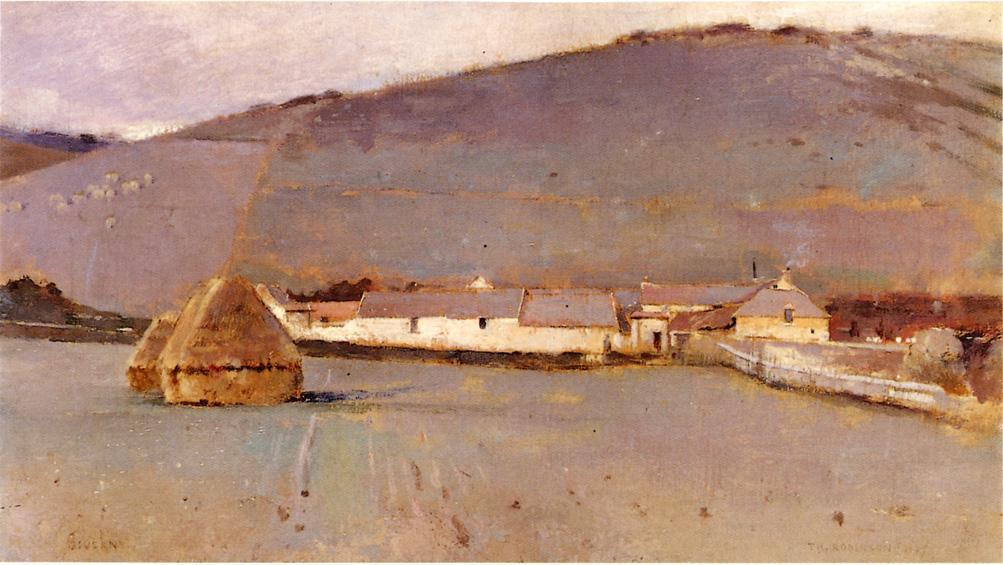 Giverny, 1889 by Theodore Robinson (1852-1896, United States) | Painting Copy | WahooArt.com