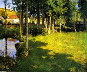 Willard Leroy Metcalf - Giverny