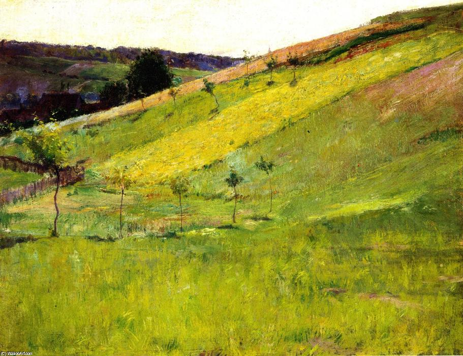 Giverny Hillside, 1890 by Guy Orlando Rose (1867-1925, United States) | Art Reproduction | WahooArt.com