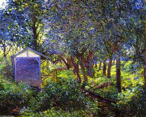 Lilla Cabot Perry - Giverny Landscae, in Monet's Garden