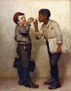 John George Brown - Give Us a LIght