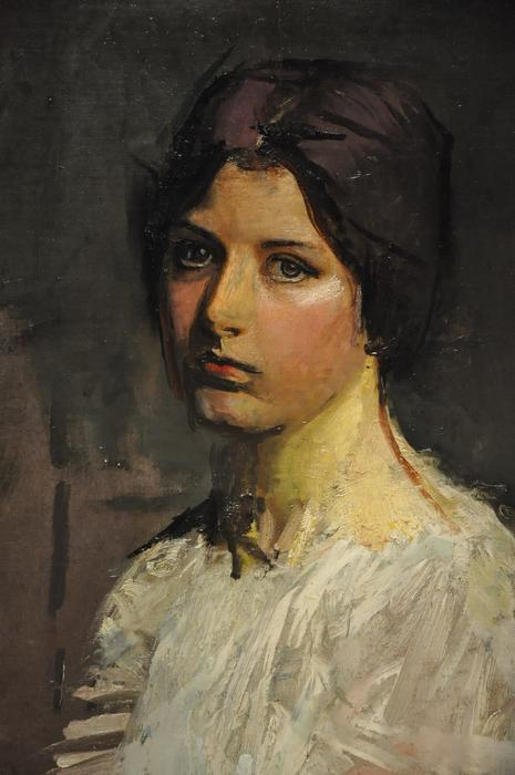 Gladys by Abbott Handerson Thayer (1849-1921, United States)