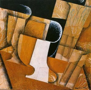 Juan Gris - The Glass (also known as The Fruit Bowl)