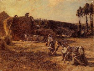 Léon Augustin L-hermitte - The Gleaners