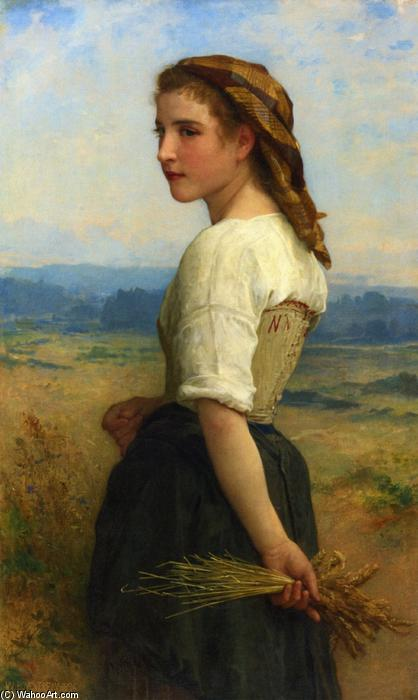 Gleaners, 1894 by William Adolphe Bouguereau (1825-1905, France) | Painting Copy | WahooArt.com