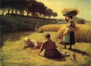 John Ottis Adams - Gleaners at Rest (also known as Nooning)