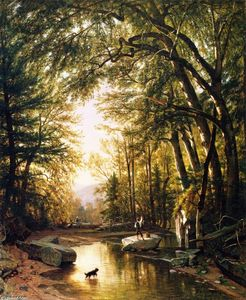 Thomas Worthington Whittredge - The Glen