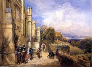 David Cox - Going Out Hawking