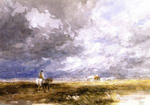 David Cox - Going to the Hayfield