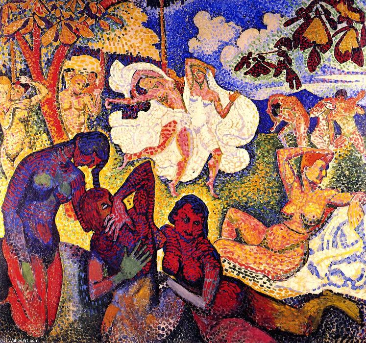 The Golden Age, 1905 by André Derain (1880-1954, France) | Museum Quality Reproductions | WahooArt.com