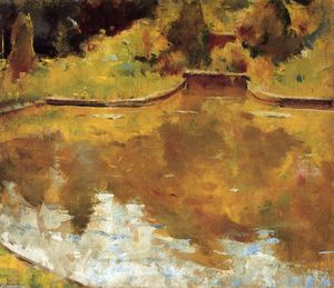 Charles Webster Hawthorne - Goldfish Pond