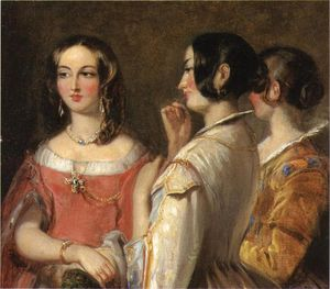 Thomas Sully - Gossip