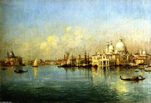 Christopher Pearse Cranch - Grand Canal, Venice