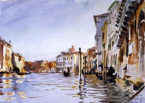John Singer Sargent - The Grand Canal, Venice