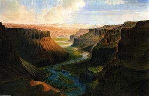James Madison Alden - Grand Canyon of Palouse River