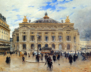 Frank Myers Boggs - Grand Opera House, Paris