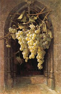 Edwin Deakin - Grapes
