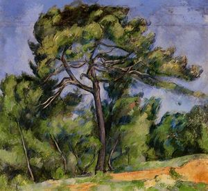 Paul Cezanne - The Great Pine