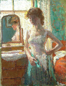 Spencer Frederick Gore - The Green Dress