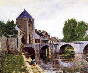 William Lamb Picknell - Grey Day, Moret