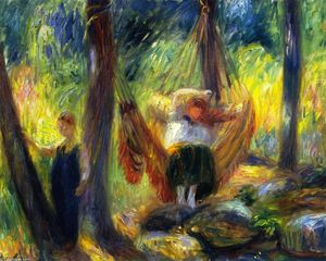 William James Glackens - The Hammock