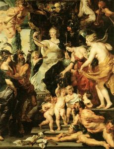 Peter Paul Rubens - Happiness of the Regency