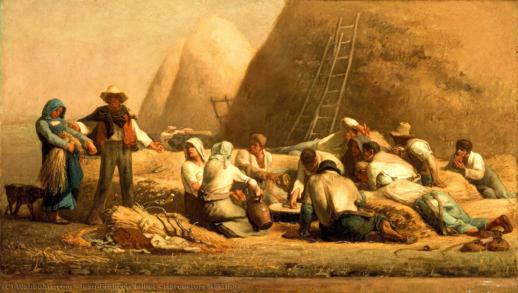 Jean-François Millet  Jean-francois-Millet-Harvesters-Resting