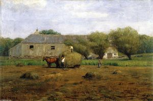 Dwight William Tryon - Haymaking