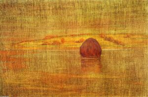 Order Famous Paintings Reproductions : Haystack in an Ipswich Marsh, 1917 by Arthur Wesley Dow (1857-1922, United Kingdom) | WahooArt.com