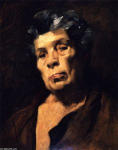 John Singer Sargent - Head of Aesop (after Velazquez)