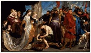 Peter Paul Rubens - Head of Cyrus Brought to Queen Tomyris