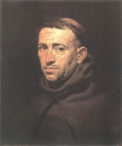 Peter Paul Rubens - Head of a Franciscan Friar