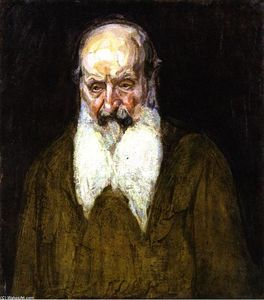Henry Ossawa Tanner - Head of a Jew in Palestine