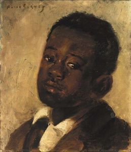 Alice Pike Barney - Head of a Negro Boy