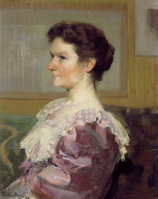 Helen Biddle Griscom, Drawing by Cecilia Beaux (1855-1942, United States)