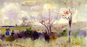 Charles Edward Conder - Herrick-s Blossoms